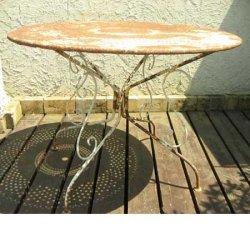 画像2: ガーデンテーブル 【Antique Garden Table】