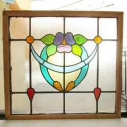 画像2: 丸みを帯びた可愛いデザイン♪イギリスアンティークステンドグラス