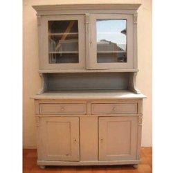 画像1: カップボード【Antique Cupboard】