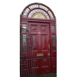 画像1: ステンドドアセット(ドア枠付)